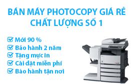 Bán máy photocopy cũ giá rẻ